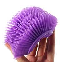 Multi-Use Soft Silicone Massage Cleaning Brush Baby Shower Bath Shampoo Relaxation Scalp Comb