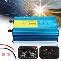 12V/24V to 110V/220V 2000W Pure Sine Wave Inverter Car LCD Solar Power Converter