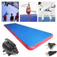 275.6x78.7x7.8 inch Inflatable Air Track Floor Home Tumbling Mat Gymnastics Training Track Pad
