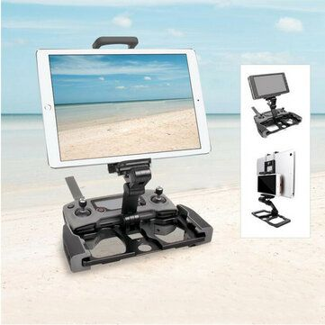 Sunnylife Remote Control Phone Tablet Holder Bracket for DJI Mavic Mini/MAVIC 2/AIR/PRO SPARK CrystalSky