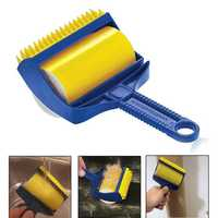 Honana BC-608 2pcs Reusable Sticky Hair Remover Cleaning Brush Picker Lint Roller Laundry Cleaner