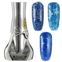 Blue Diamond Hybrid DIY UV Gel Nail Art Polish Long-lasting Soak Off LED Manicure Tools 6 Colors