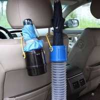 Car Telescopic Umbrellas Barrels VehiclE-mounted Portable Folding Storage Bag Collapsible Umbrella B