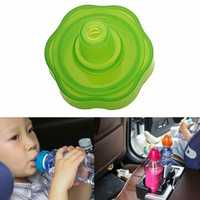 IPRee® 2Pcs/set Children Kids Outdoor Water Bottle Straw Cover Drinking Water Spill Proof Converter Car Travel