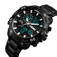 SKMEI 1306 Sports Style Chronograph Waterproof Dual Digital