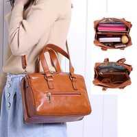 Brenice Women Fashion Handbag Multi-functional Crossbody Bag