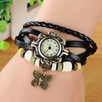 Women Casual Vintage Butterfly Quartz Watch