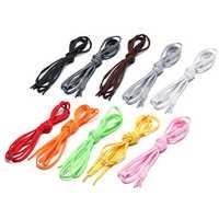 120CM 1 Pair Of Colorful Shoelaces Athletic Shoes Shoelaces