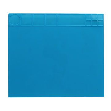 35x40cm Heat Resistant Silicone Pad Desk Mat Maintenance Platform Heat Insulation BGA Soldering Repair Station