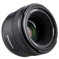 Yongnuo YN50mm 50MM F1.8 Large Aperture Auto Focus AF Lens for Canon DSLR Camera