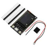 TTGO 16M bytes (128M Bit) Pro ESP32 OLED V2.0 Display WiFi +bluetooth ESP-32 ESP8266 Module For Arduino