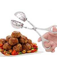Mini Meat Baller Stainless Steel Made Cookie Dough Scoop Professional Sphere Mold Ball Maker for Cake Or Meat