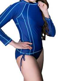 Plus Size Long Sleeve Wetsuit Surfing Sunscreen Diving Suit Tops