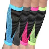 Mens Football Basketball Breathable Calf Compression Sleeve