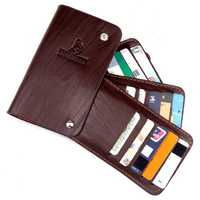 Outdoor Portable Wallet ID Document Rotatable Credit Card Holder Case Storage Bag