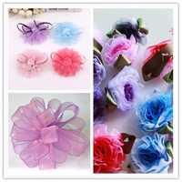 20mm 50Yards Woven Edge Organza Ribbon Wedding Birthday Party Gift Candy Box Decoration