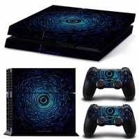 Digital Aura Vinly Skin Stickers For PS4 Play Station 4 Consel Controllers Decals