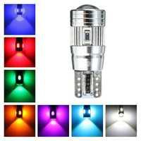 T10 Car Bulbs LED Canbus 5630SMD Lens Xenon W5W Side Light Bulb