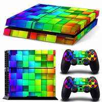 Lattice Style Vinyl Skin Decal For PS4 Play Station 4 Console and 2 Controllers