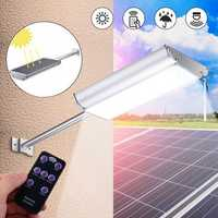 5Modes 70 LED Microwave Motion Sensor Solar Power Street Light Waterproof Wall Lamp Outdoor Garden