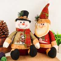 Christmas Decorations Artificial Reindeer Doll Flannel Christmas Gifts Toys Christmas Decorations for Home