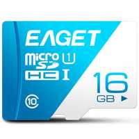 EAGET T1 Micro SD Card Memory Card 16GB/32GB/64GB/128GB Class 10 TF Card