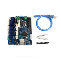 Cloned Duet Ethernet V1.04 Advanced 32 Bit Electronics Board Mainboard Motherboard Providing Ethernet Connectivity For 3D Printers CNC Machines