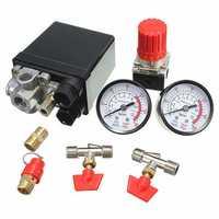 Air Compressor Pressure Valve 180PSI Gauges Regulator Pump Control Switch