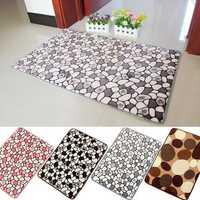 40x60cm Memory Foam Non-slip Floor Door Rug Bathroom Absorbent Flannel Stone Mat