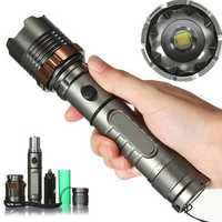 MECO T6 2000lm 5 Modes Lotus Shape LED Flashlight