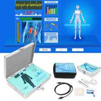 English Spanish Quantum Magnetic Resonance Health Body Analyzer Newest Generation