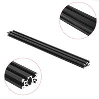 Machifit 500mm 2040 V-Slot Aluminum Profile Extrusion Frame DIY CNC Tool Black