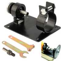 Electric Drill Cutting Seat Stand Machine Bracket Rod Bar Table with 2 Wrench