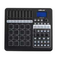 WORLDE PANDA200 Portable 16 Drum Pads USB MIDI Controller Keyboard
