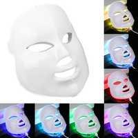 7 Colors Light Photon LED Electric Facial Mask Skin Care