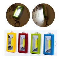 073 25mm COB Camping Light Night Light Mini LED Flashlight Keychain Light