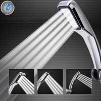 Pressurized Water Saving Square Handheld Shower Head Bath Shower