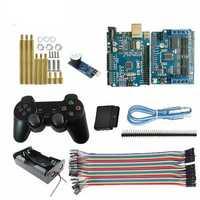 Wireless Controller Arduino Starter Kit UNO-R3 Board + Active Buzzer for Smart Robot Tank Car Chass
