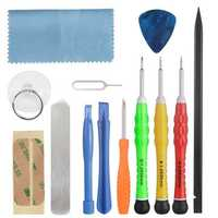 Bakeey™ 13 Pieces Repair Tool Kit Pry Opening Screwdriver Set for iPhone 5S/6s/7 iPad Xiaomi