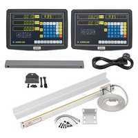 2/3 Axis Grating CNC Milling Digital Readout Display / 50-1000mm Electronic Linear Scale Lathe Tool