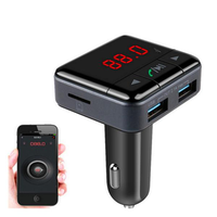 BC12B Wireless bluetooth Car Kit FM Transmitter Radio Support U Disk MP3 Player