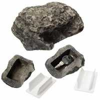Key Safe Stash Box Hollow Secret Hidden Funny Muddy Rock Stone Case Box Home Garden Decor