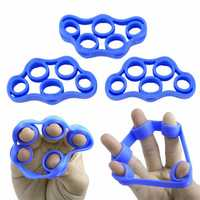 Finger Trainer Hand Grip Exerciser for Guitar Bass Ukulele Piano Violin Music Players
