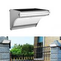 ARILUX® PL-SL 14 Solar 24 LED Aluminum Light Control PIR Motion Sensor Wall Lamp Waterproof Outdooor