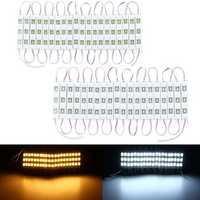 10PCS 20PCS DC12V 7.5W 15W SMD5730 Waterproof Pure White Warm White LED Module Strip Mirror Light