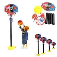 Portable Children Kids Adjustable Basketball Indoor Outdoor Play Net Hoop Set 115cm