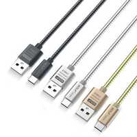 GOLF G38 2.4A Type-C Metal Fast Charging Data Cable 1m/3.33ft For Samsung S8 Xiaomi 6 Huawei M9