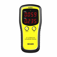 Formaldehyde Detector HCHO & TVOC & Benzene Without Batteries Air Analyzers