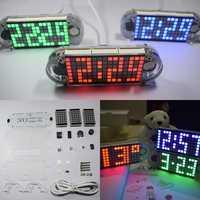 Geekcreit® DIY DS3231 Touch Key Precision High Brightness LED Dot Matrix Display Desktop Alarm Clock Kit