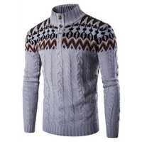 Mens Casual Comfy Pullovers Sweaters